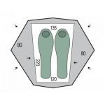 Палатка 2-местная Pinguin Aero 2 Green