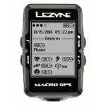 Велокомпьютер с GPS Lezyne MACRO GPS HR LOADED +пульсометр Black