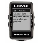 Велокомпьютер с GPS Lezyne MACRO GPS HRSC LOADED +Пульсометр +Каденс Black