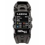 Часы фитнес-трекер для бега и велоспорта LEZYNE MICRO C GPS WATCH COLOR HR 2018 +Пульсометр Black