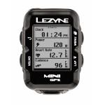 Велокомпьютер с GPS LEZYNE MINI HR LOADED 2018 +Пульсометр Black