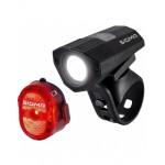 Комплект фонарей Sigma Sport BUSTER 100/NUGGET II FLASH