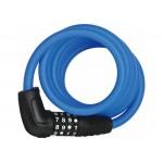 Замок Abus 5510С/180/10 BK Blue SCMU