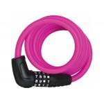 Замок Abus 5510С/180/10 BK Pink SCMU