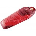 Спальник DEUTER STARLIGHT EXP детский, fire-cranberry, левая молния